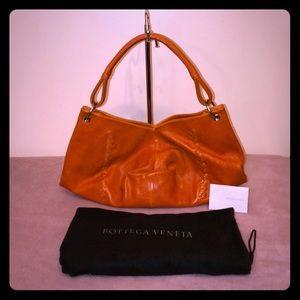 Bottega Veneta Fortunate Cookie Handbag w/Dustbag